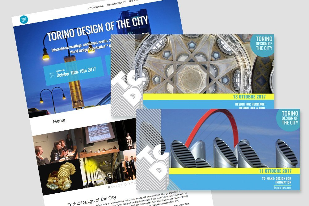 Torino Design of the City: web e video