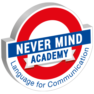 logo never mind academy